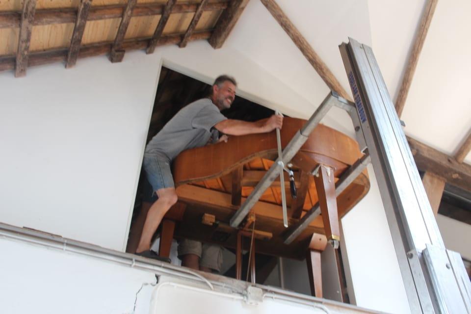 Piano verhuisd