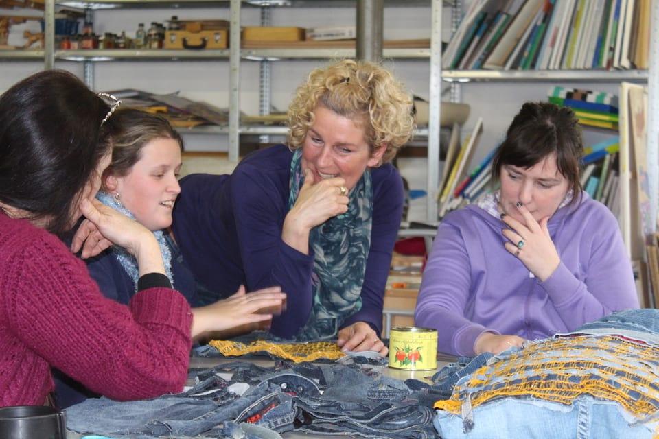 Workshop spijkerkussen